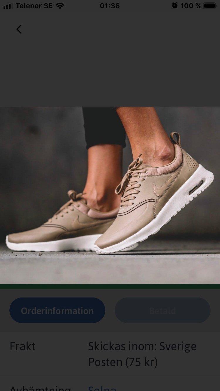 Nike Air Max Thea Premium Desert strlk 36.5