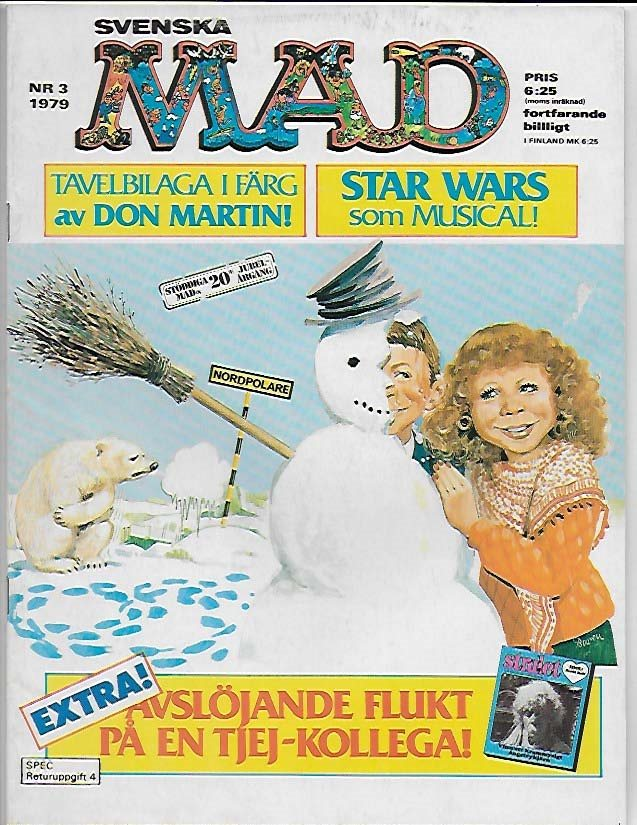 Mad 1979 Nr 3 FN/VF Star Wars