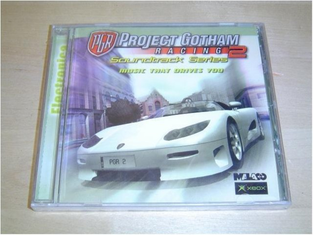 PROJECT GOTHAM RACING 2 SOUNDTRACK MUSIK *NYTT*