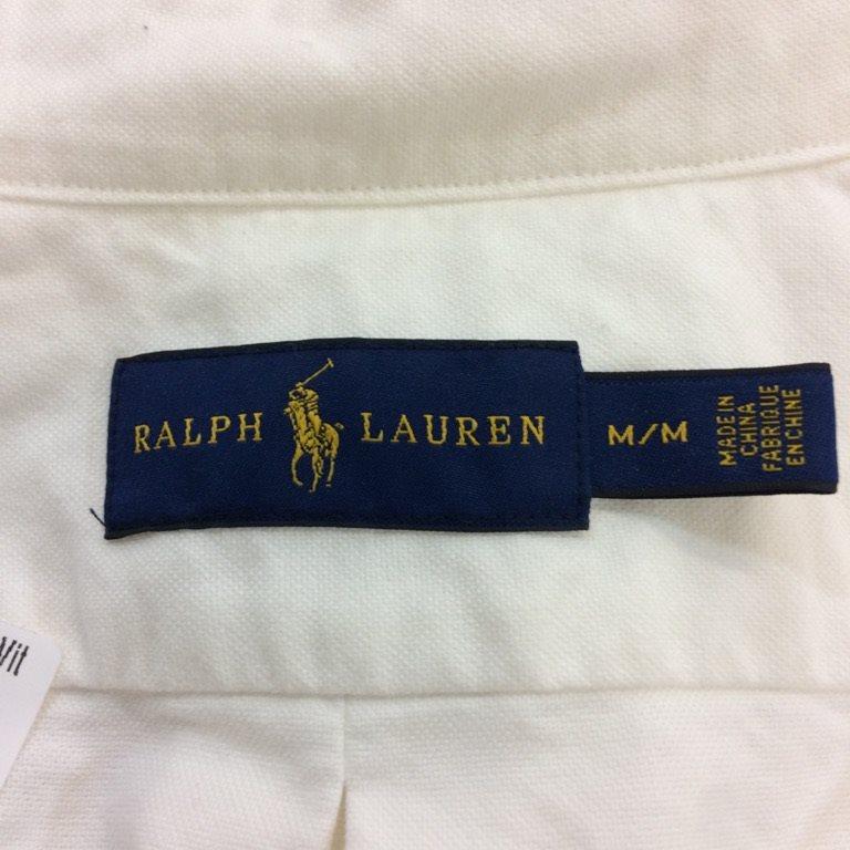 Ralph Lauren, Skjorta, Skjorta, Skjorta, Strl: M, Vit 6ff700