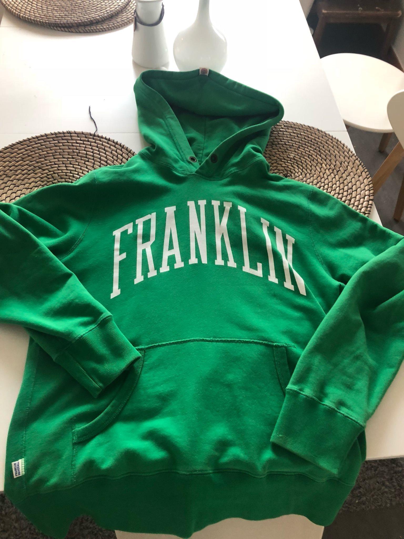 Franklin & Marshall hoodie storlek L