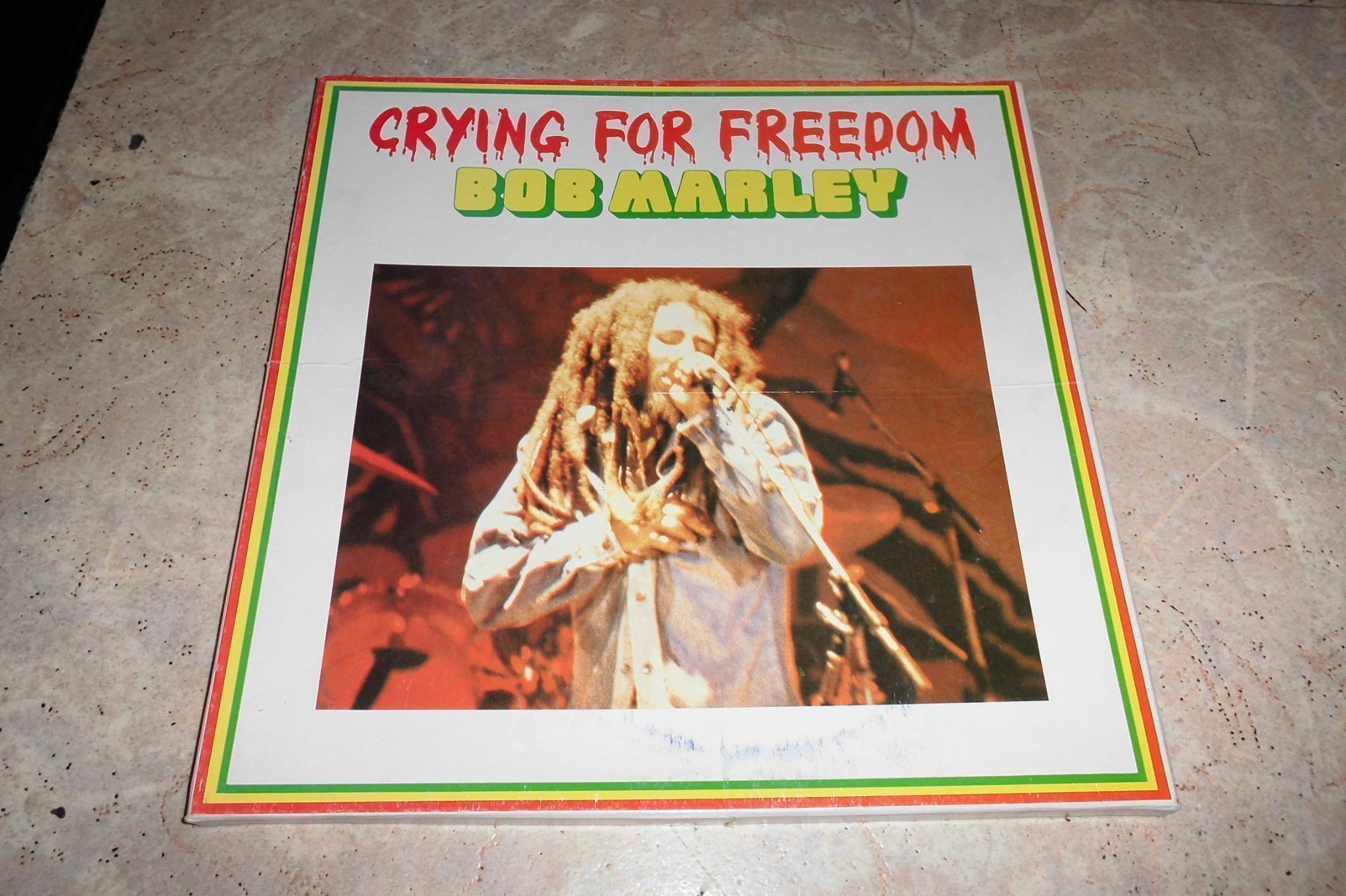 Bob Marley Crying for freedom 3 LP Box
