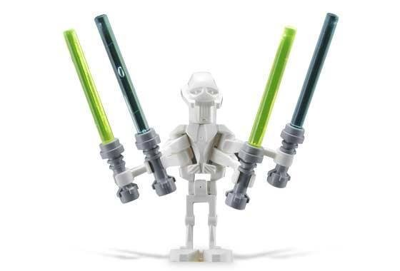 Lego -  Star Wars - Figurer - General Grievous Klassisk STW1-11