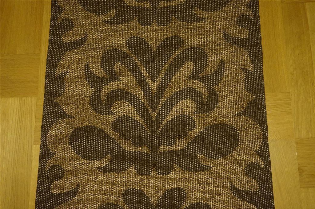 Mattor Pappelina : Pappelina matta siri brun guld Äkta m retro på tradera