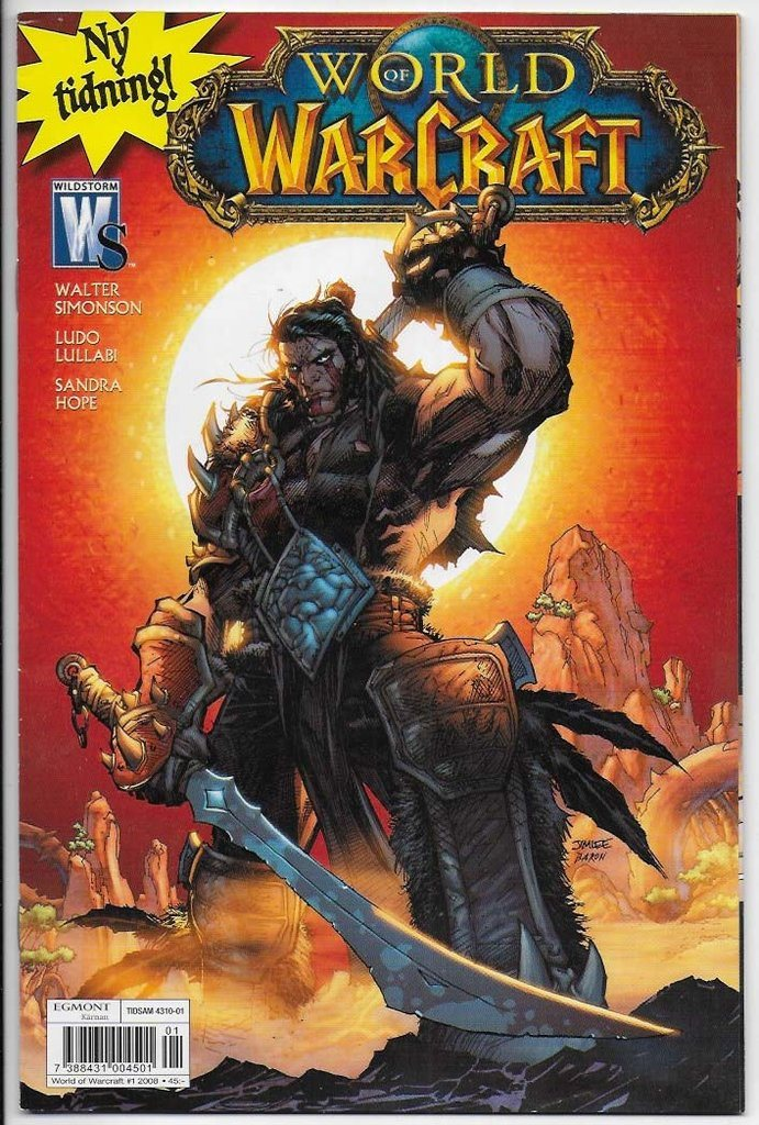 World of Warcraft 2008 Nr 1 FN/VF 1:a Nummer