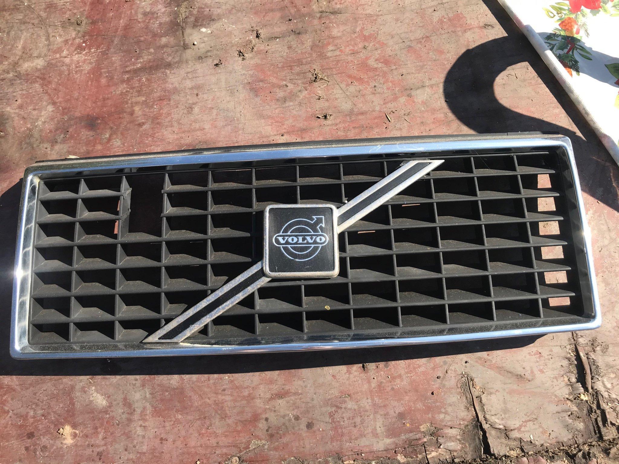 Volvo 240 Turbo grill. Volvo grill, turbogrill (412860381