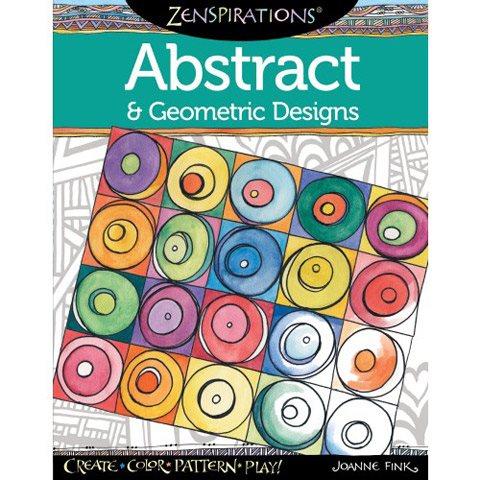 Målarbok för för för vuxna Anti Stress Zeninspirations Abstract 77fc8a