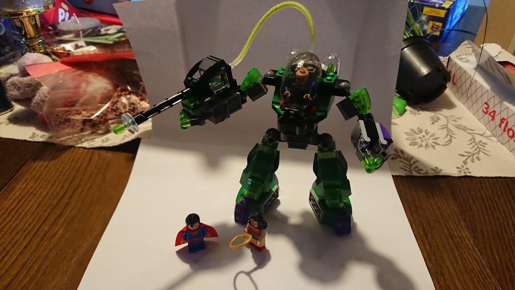 LEGO DC SUPERHEROES 6862 SUPERMAN VS POWER ARMOR LEX!