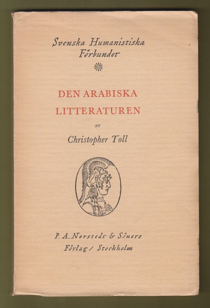 Toll, Christopher: Den arabiska litteraturen.