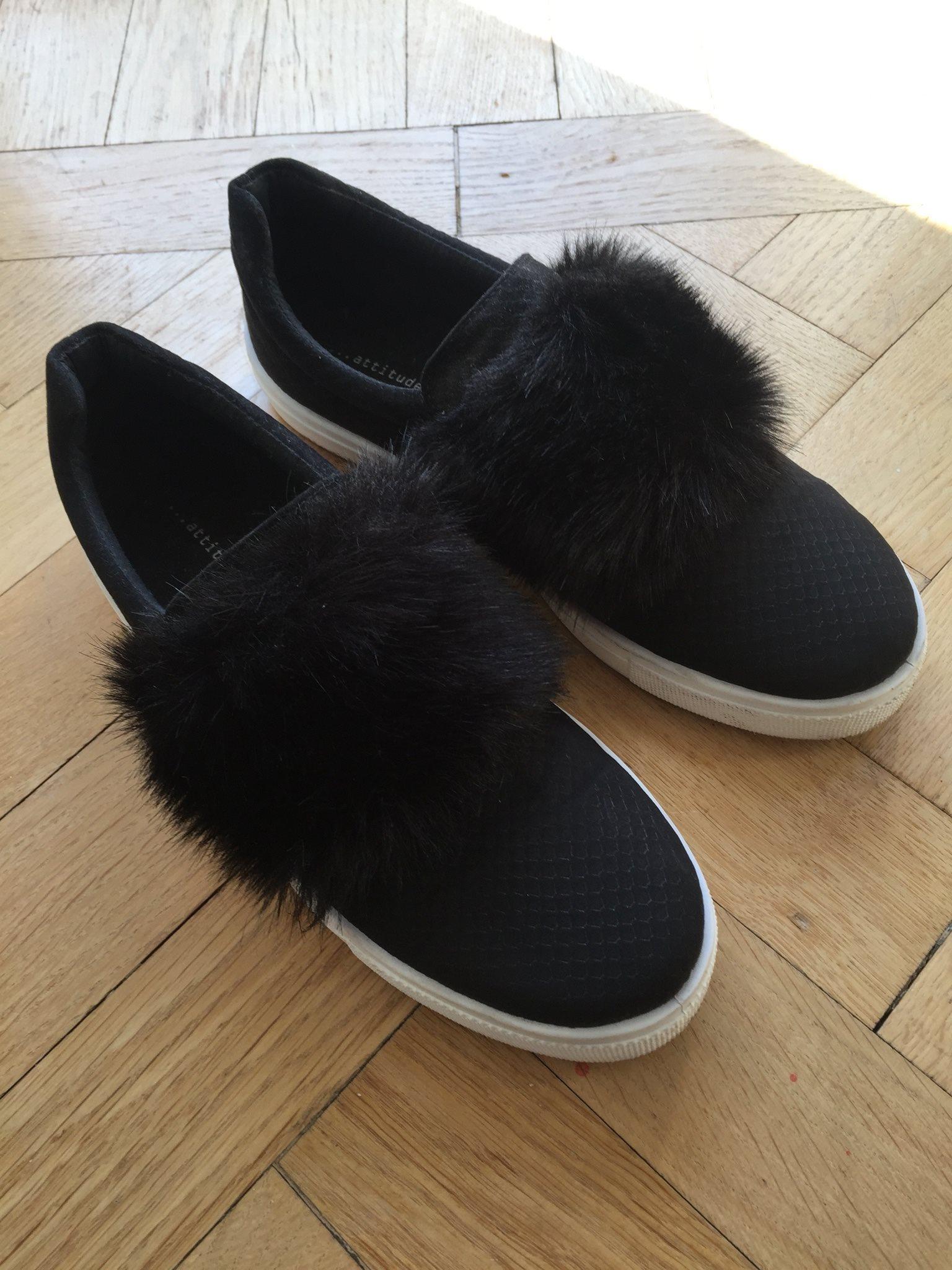 skor med päls