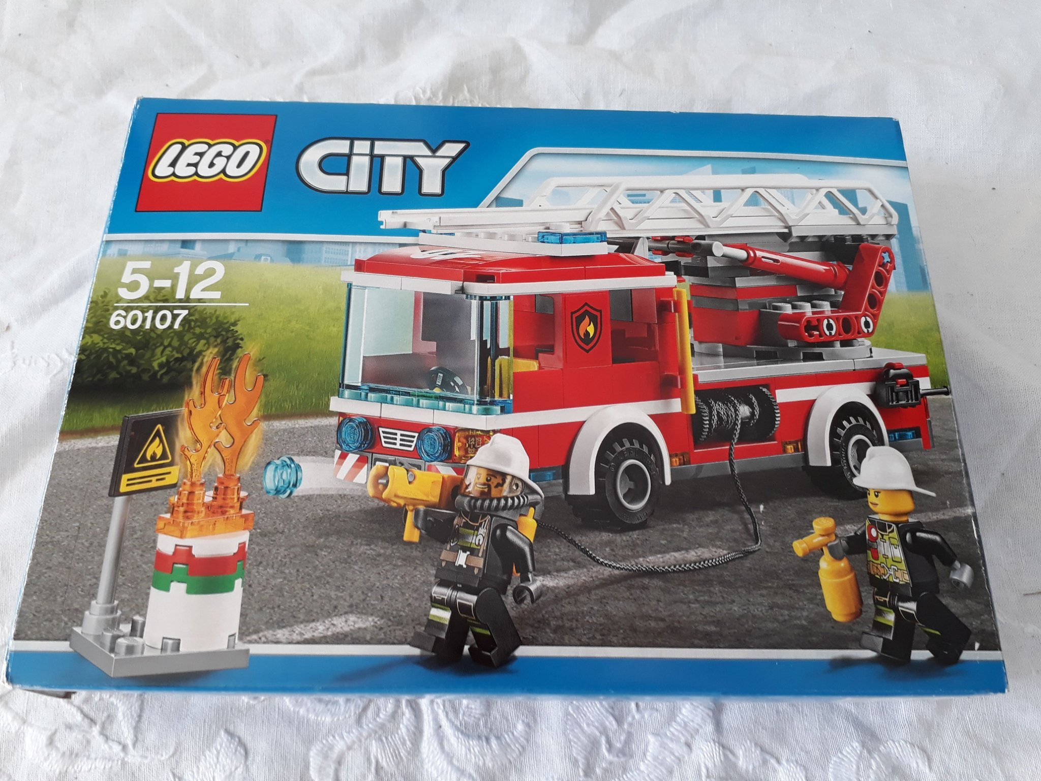 Ultramoderne Lego city 60107 brandbil originalkartong bruksa.. (347616808) ᐈ WI-25