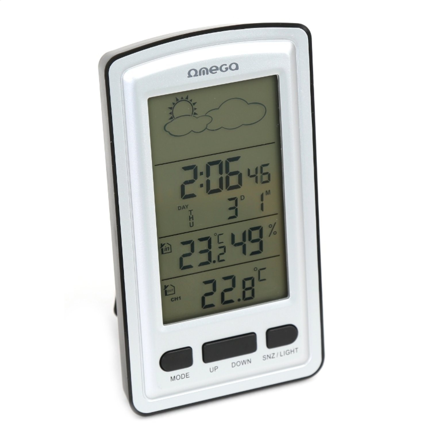 OMEGA DIGITAL WEATHER STATION LCD INDOOR OUTDOO.. (340937083) ᐈ Köp ... 20c25ca951e20