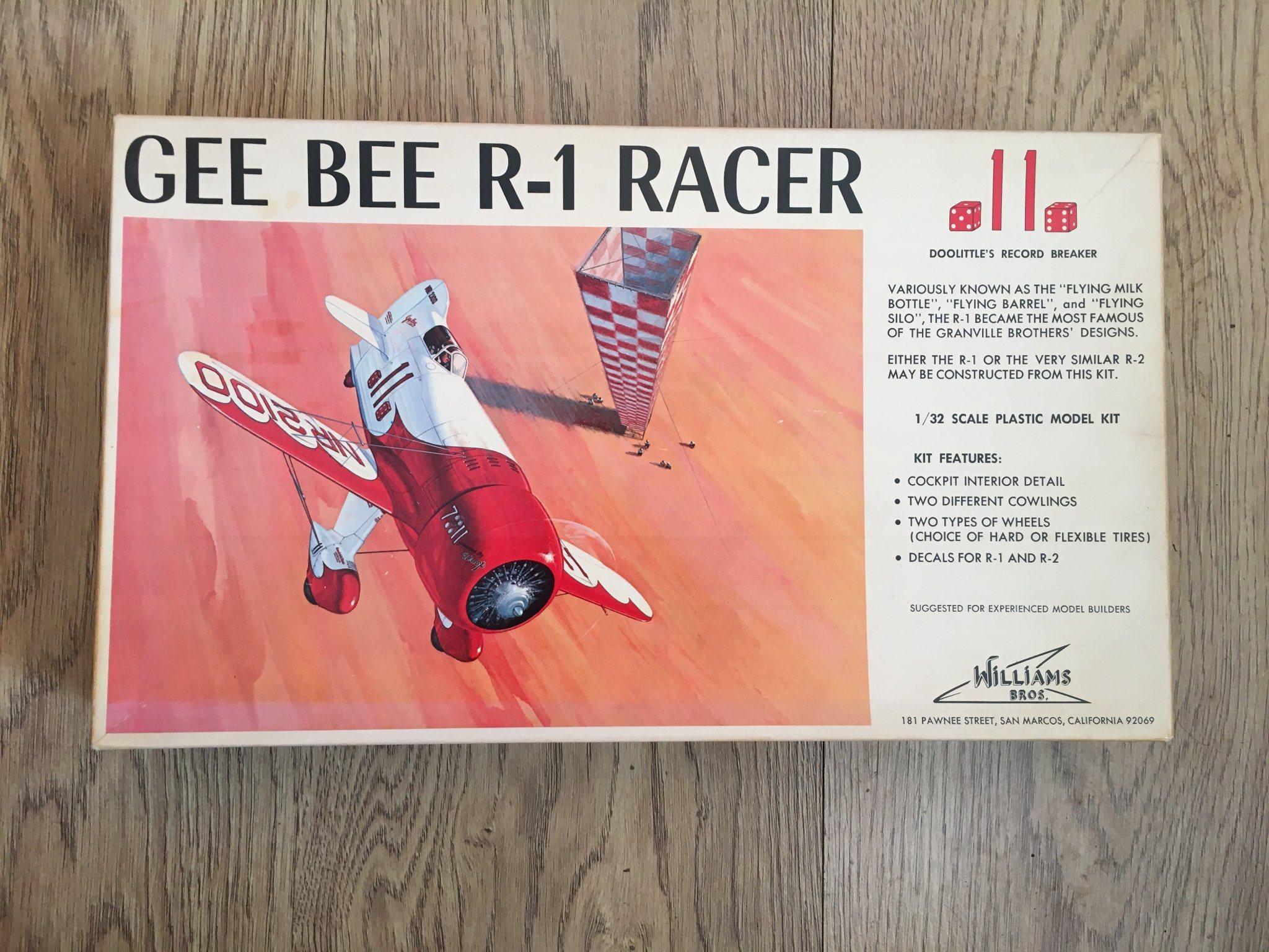 GEE BEE R-1 RACER Skala 1/32 Williams Bros (342076944) ᐈ