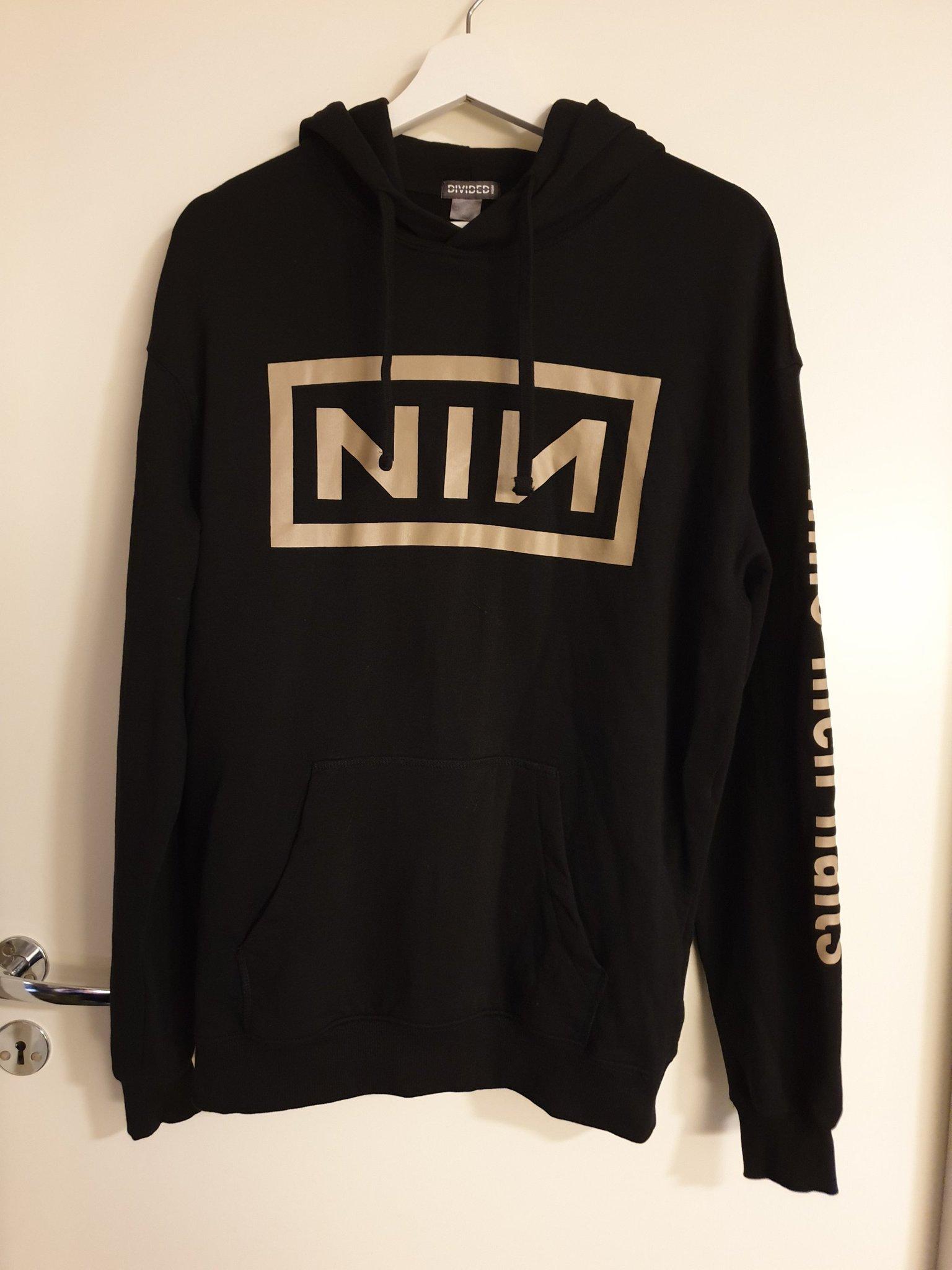 Nine Inch Nails hoodie H&M Divided strl S (396208627) ᐈ Köp