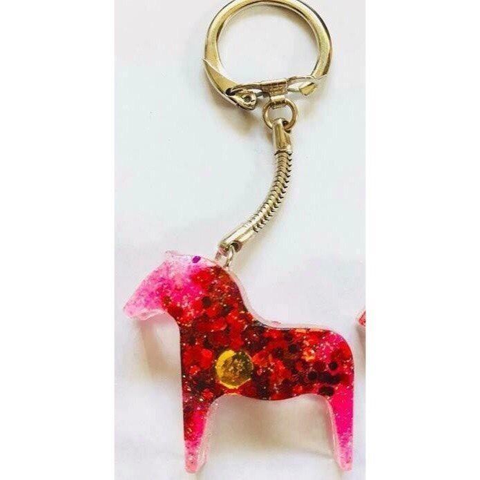 nyckelring - unik - dalahäst - häst form (330208236) ᐈ Köp på Tradera 933359c6987da