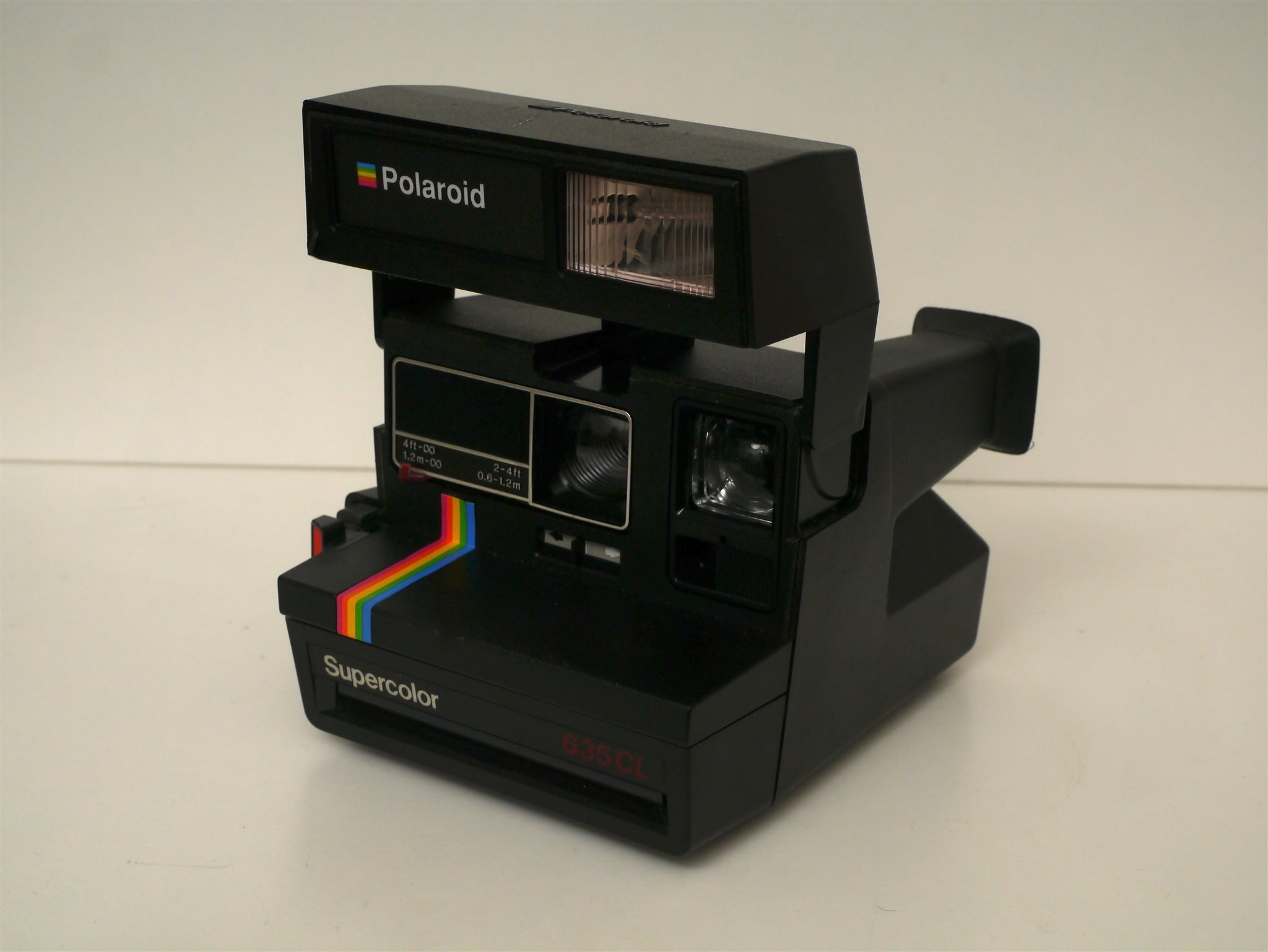 Polaroid Supercolor 635CL kamera Made in UK