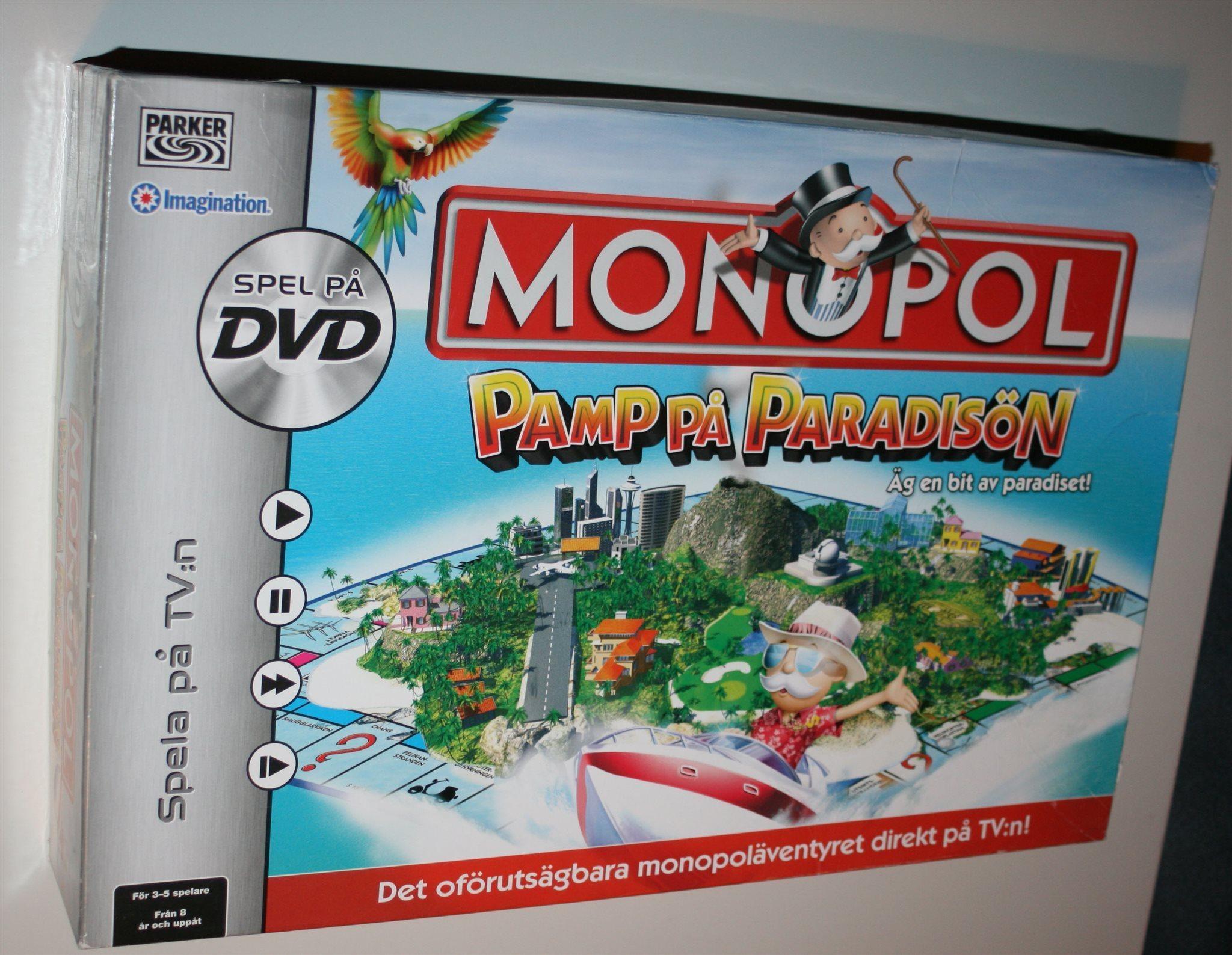 monopol pamp på paradisön