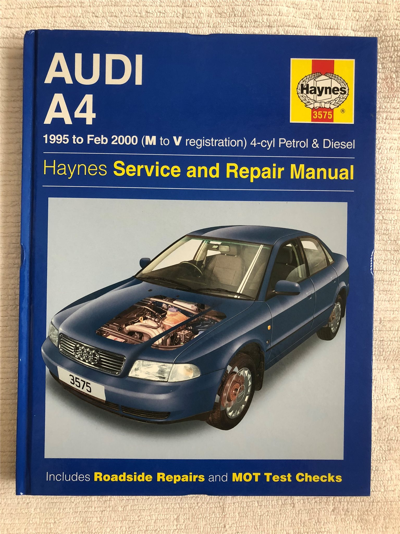 audi a4 1995 2000 service repair manual