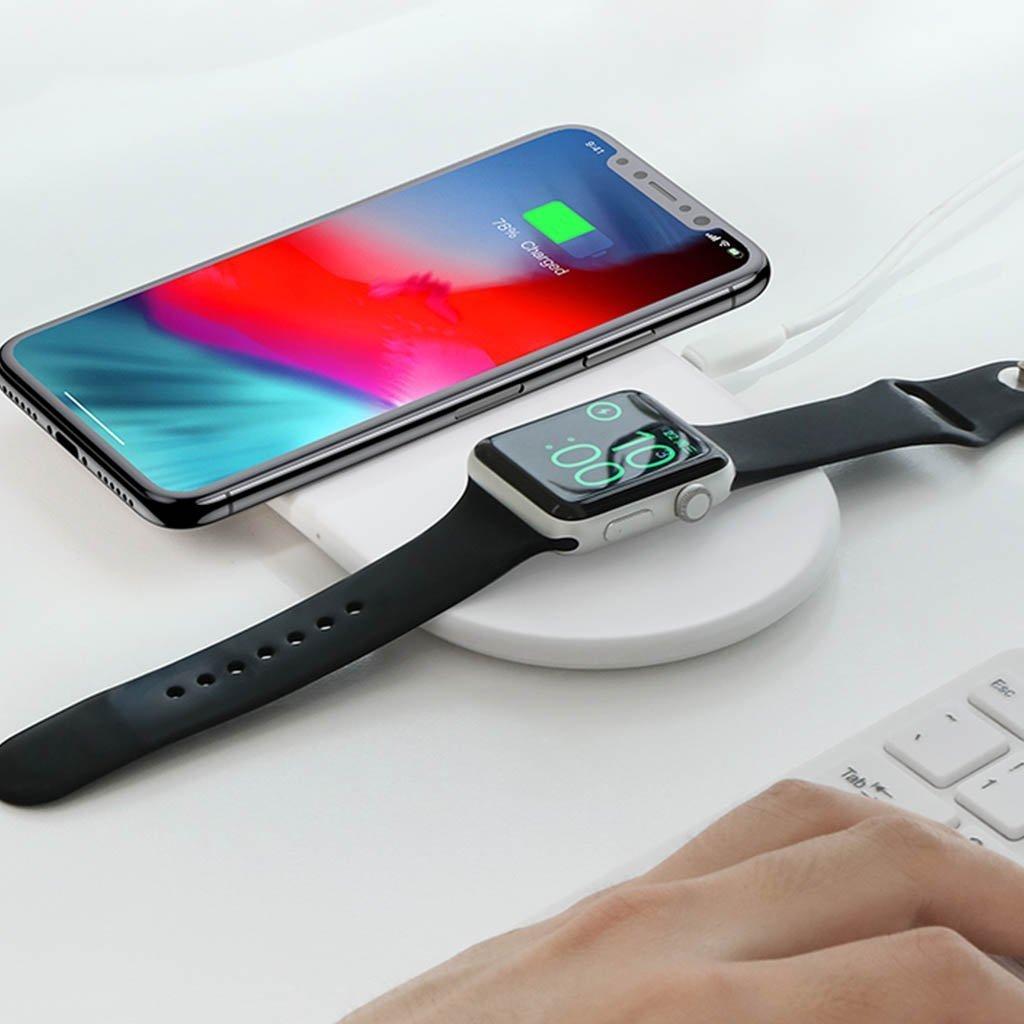 JULKLAPPSTIPS! Smart 2 i 1 Laddare för Apple Watch och telefon från Baseus