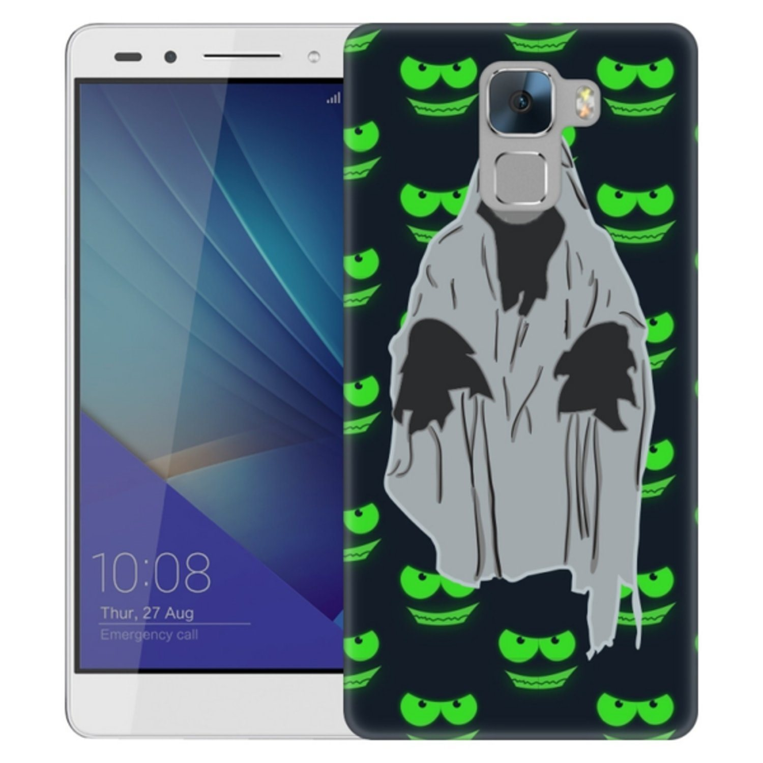 Huawei Honor 7 Skal Ghost Pattern