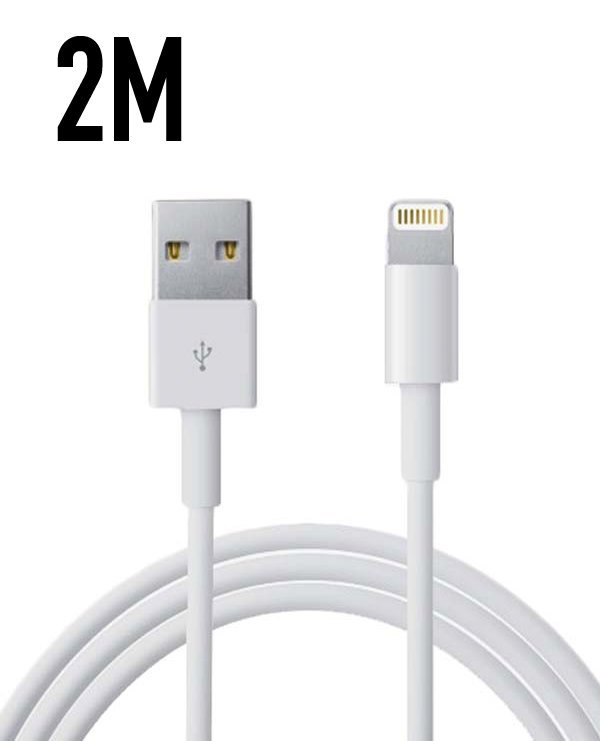 iPhone Laddare 5,6,7,8,X+Lightning Kabel