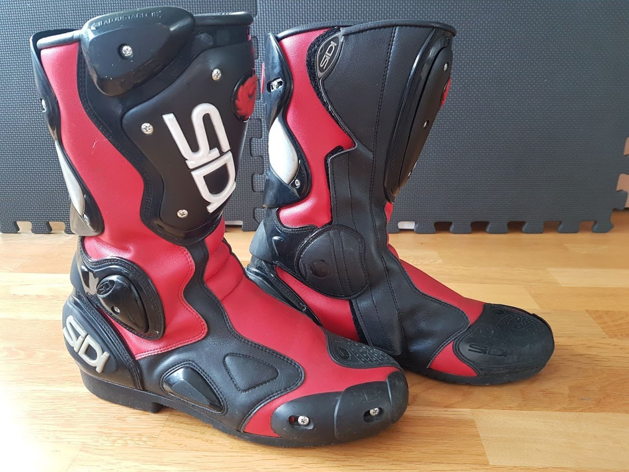Sidi ST MC Boot Black Red