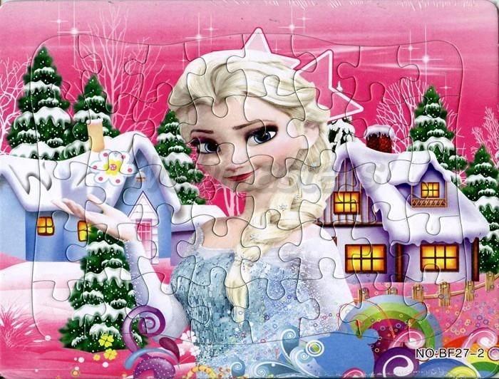 40 delar bitar Pussel barn frozen frost elsa