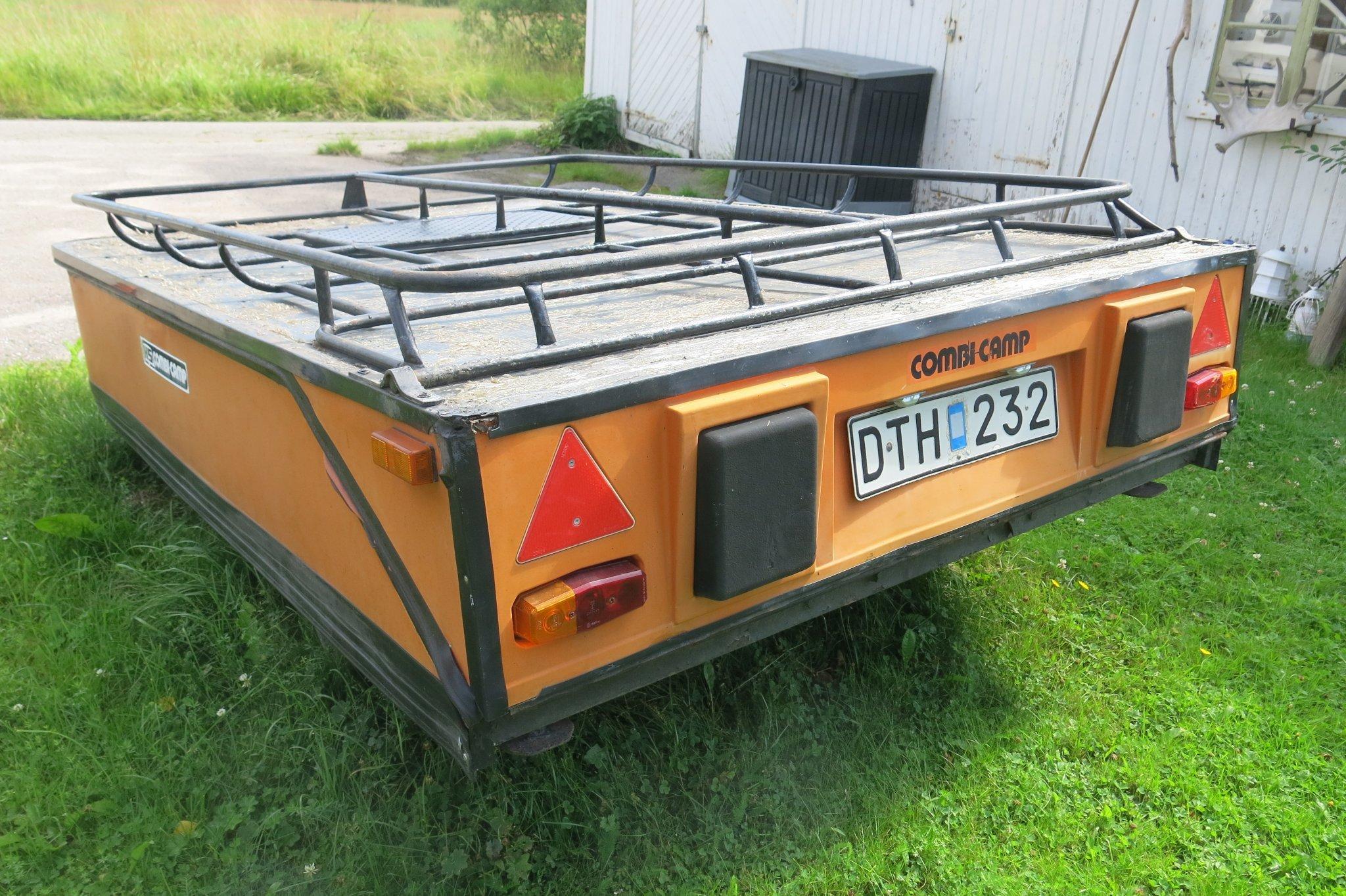 Tältvagn Combi Camp med förtält. Fint skick. Be.. (411649879