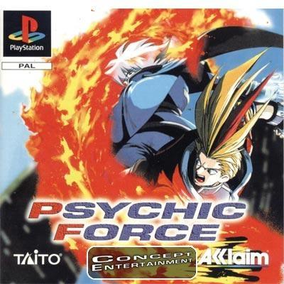 PSYCHIC FORCE (komplett) till Sony Playstation, PS1