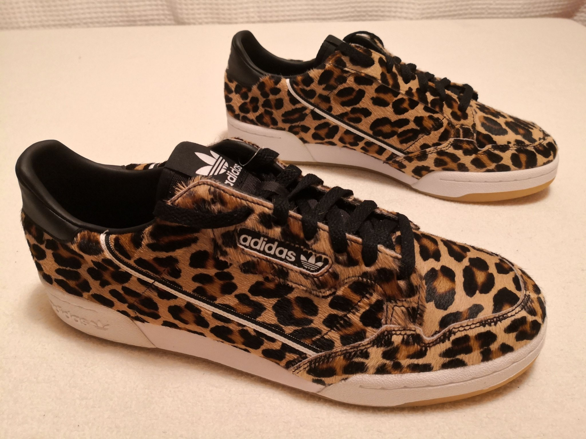 New Adidas Continental 80 Leopard New Adidas Continental 80
