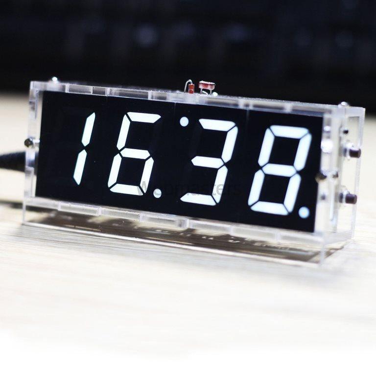 Klocka 4 Tecken DIY Kit - Vit (306606961) ᐈ Webmasters på Tradera c26fd17eec107