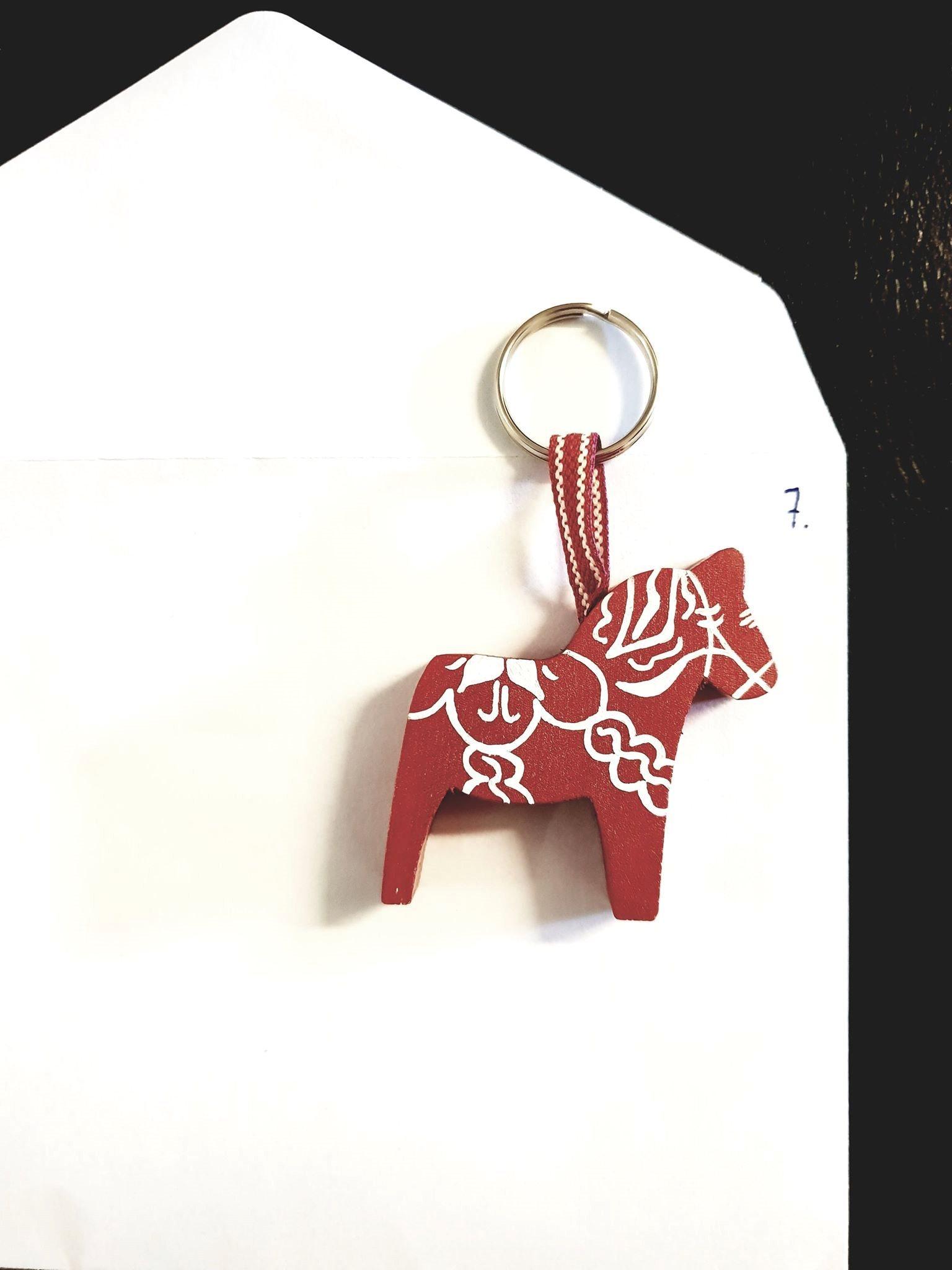 Nyckelring dalahäst (330221315) ᐈ Köp på Tradera cbd3051550711