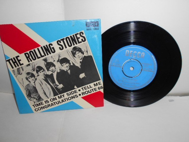 THE  ROLLING  STONES  EP  NR,SDE. 7260