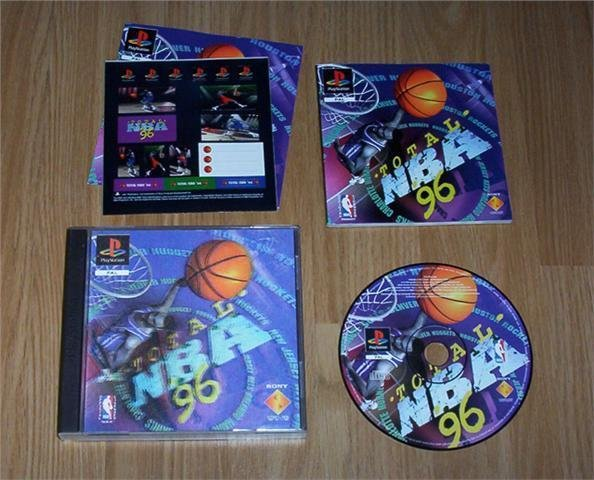 PS: Total NBA 96 + Hologram cover (rare) ★