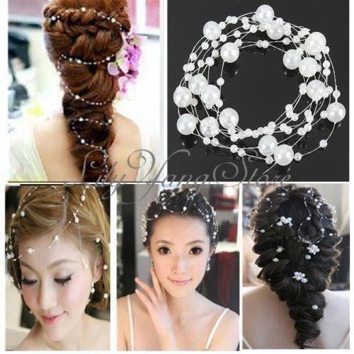 pärlor till håret