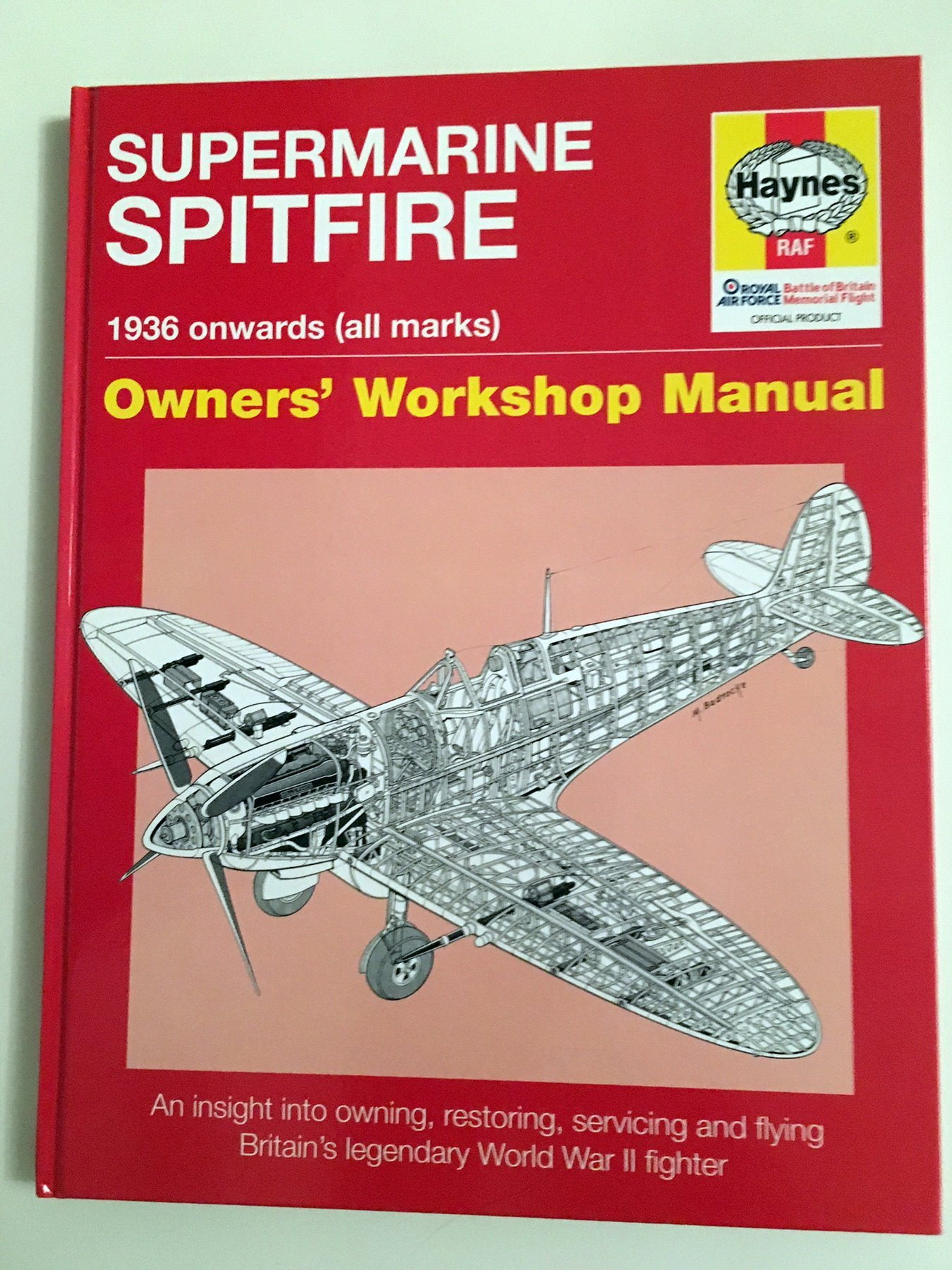Supermarine Spitfire Owners' Workshop Manual (Haynes)