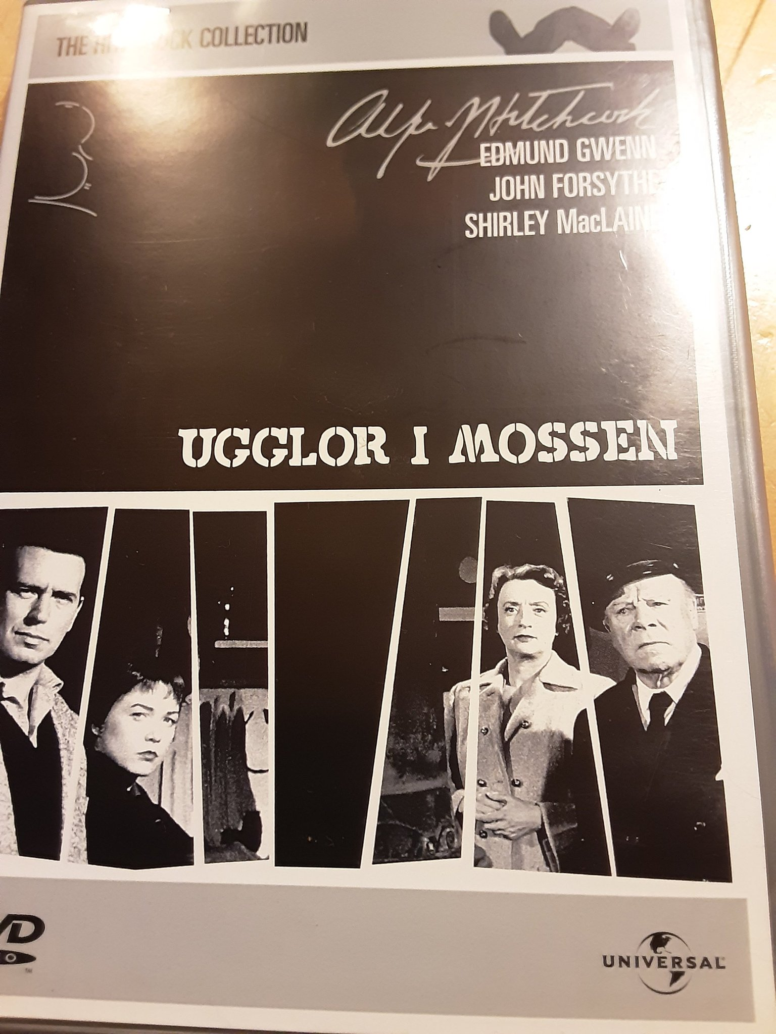 Hitchcock collection Ugglor i mossen