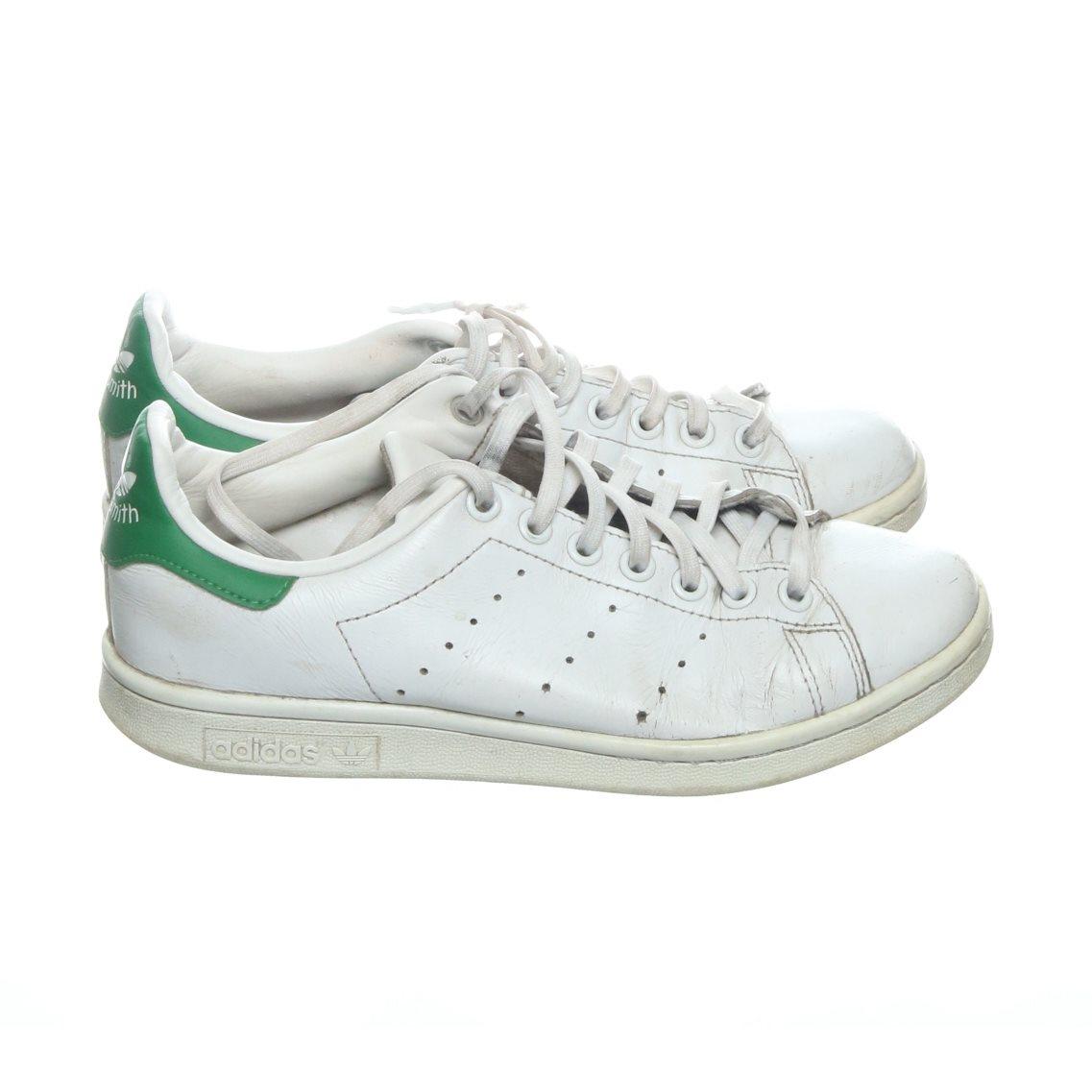 Adidas Stan Smith, Sneakers, Strl: 38, VitGr?n