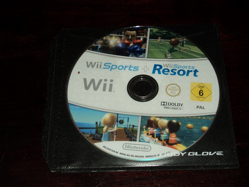 Nintendo Wii Sports + Resorts