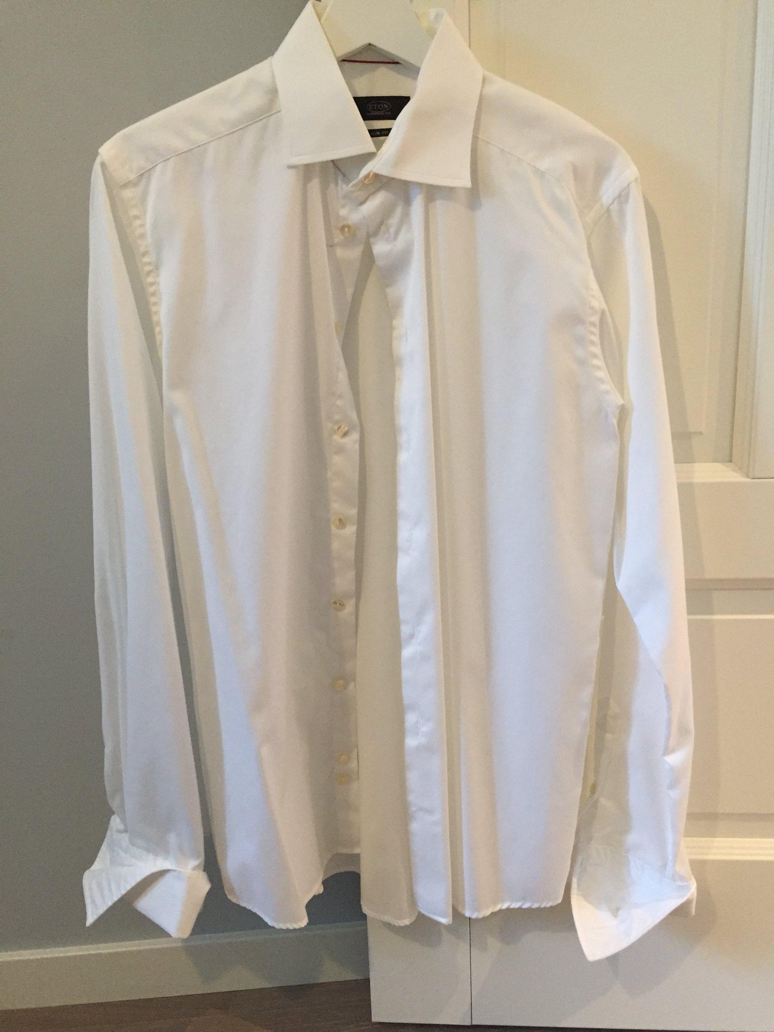 ETON vit skjorta stl M