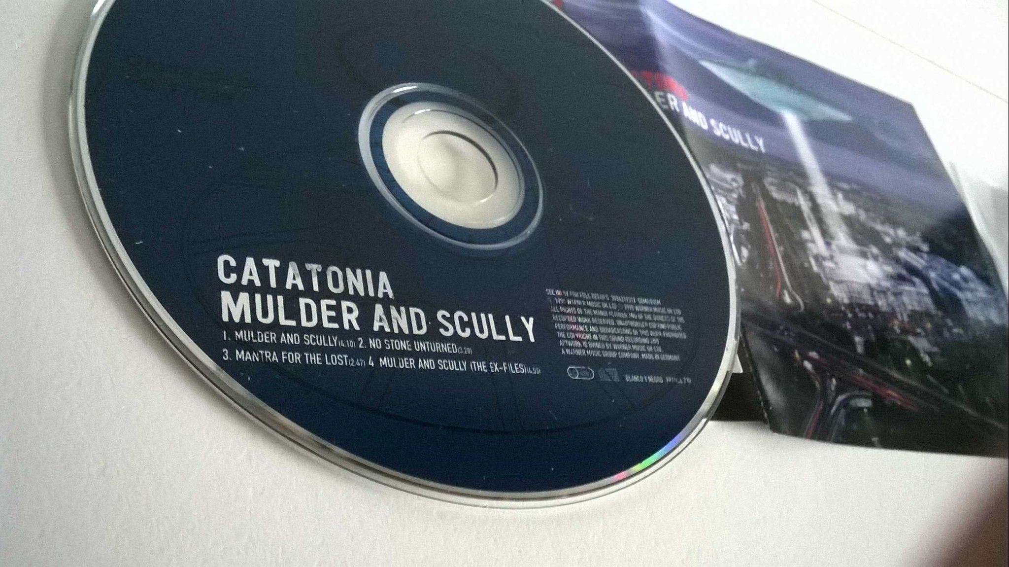 Catatonia - Mulder and scully, single CD, promo stämplad