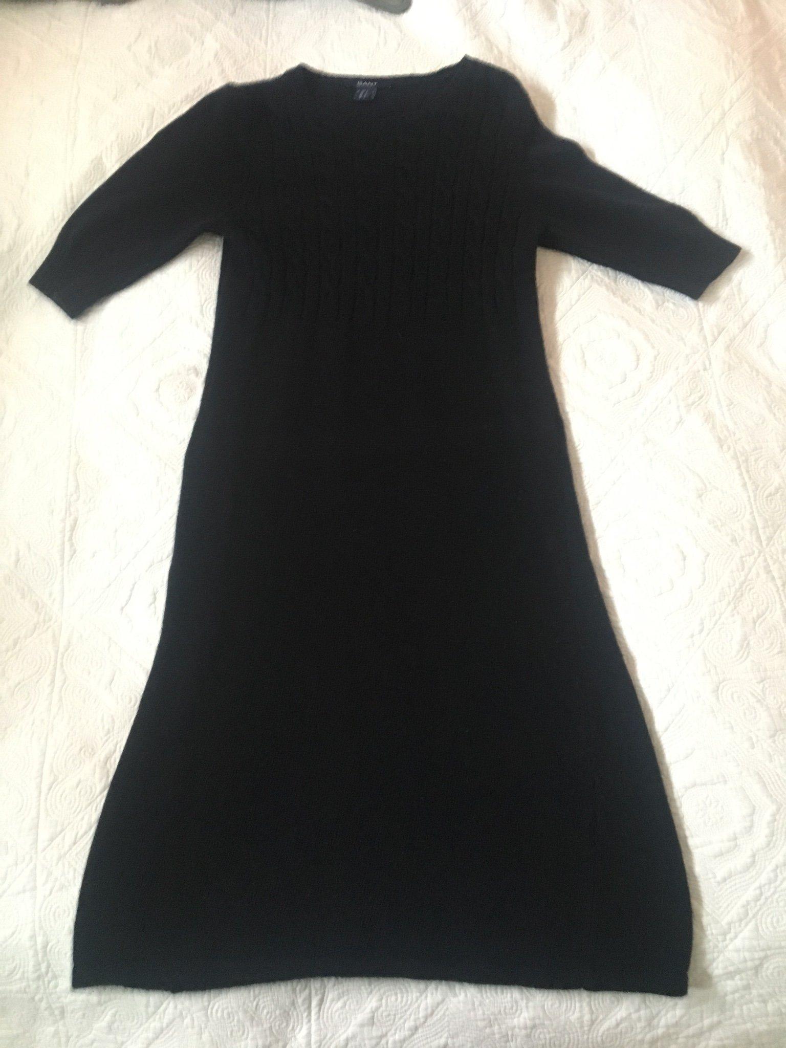 gant stickad klänning