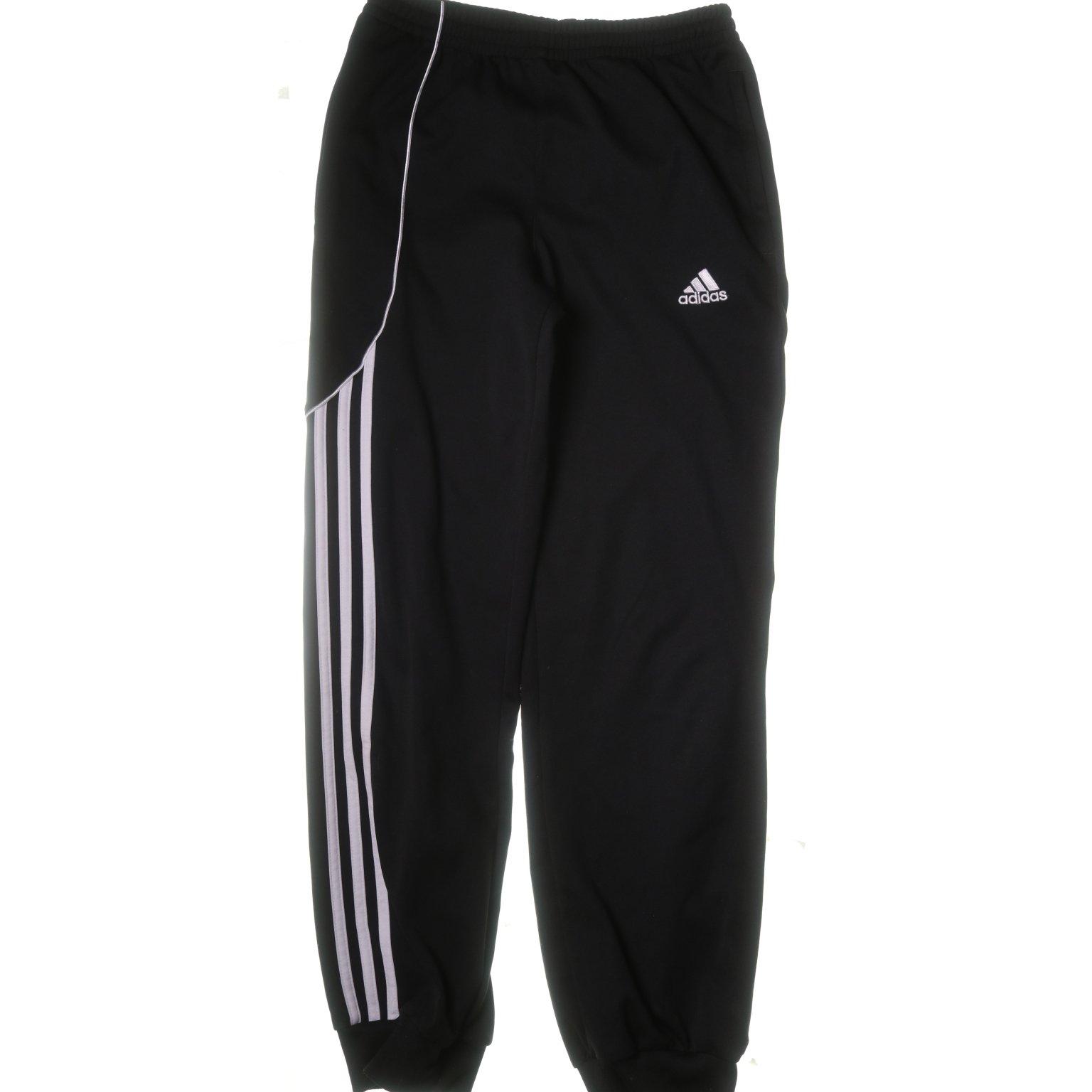 Adidas, Byxor, Strl: 152, Svart