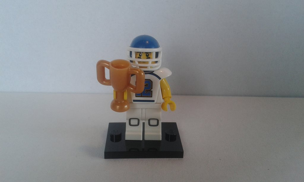Lego minifigur CMF serie 8 Football player