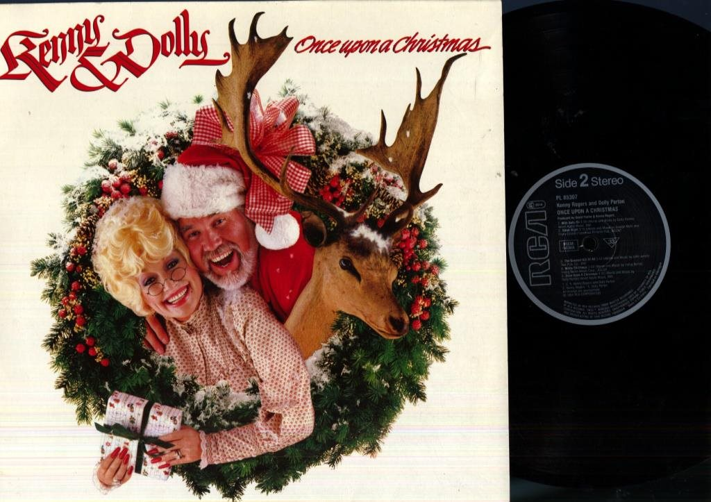 KENNY ROGERS / DOLLY PARTON - ONCE UPON A CHRISTMAS på Tradera.com -