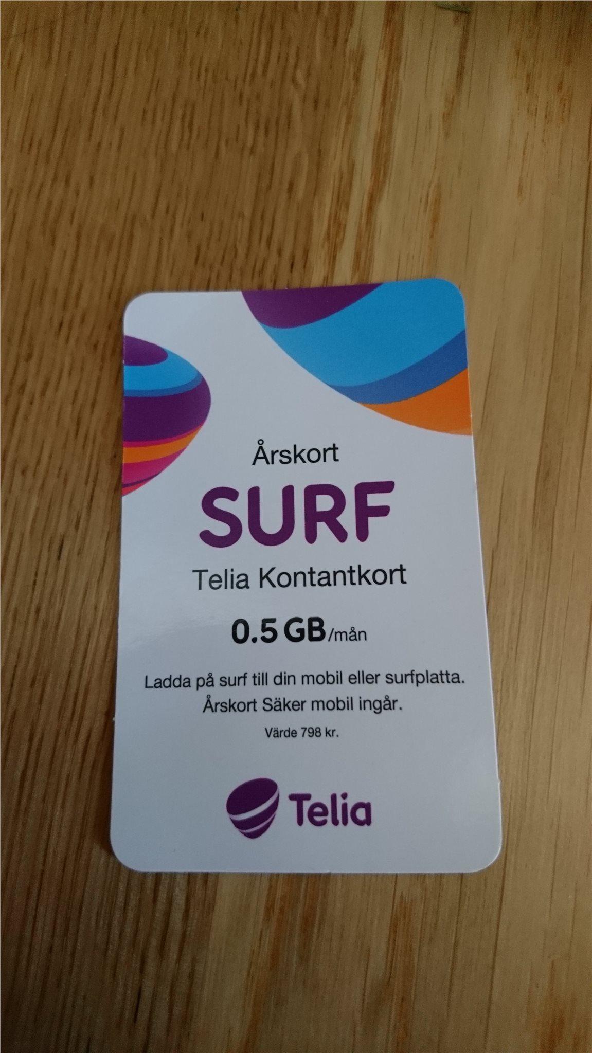 Surf 0 5 gb