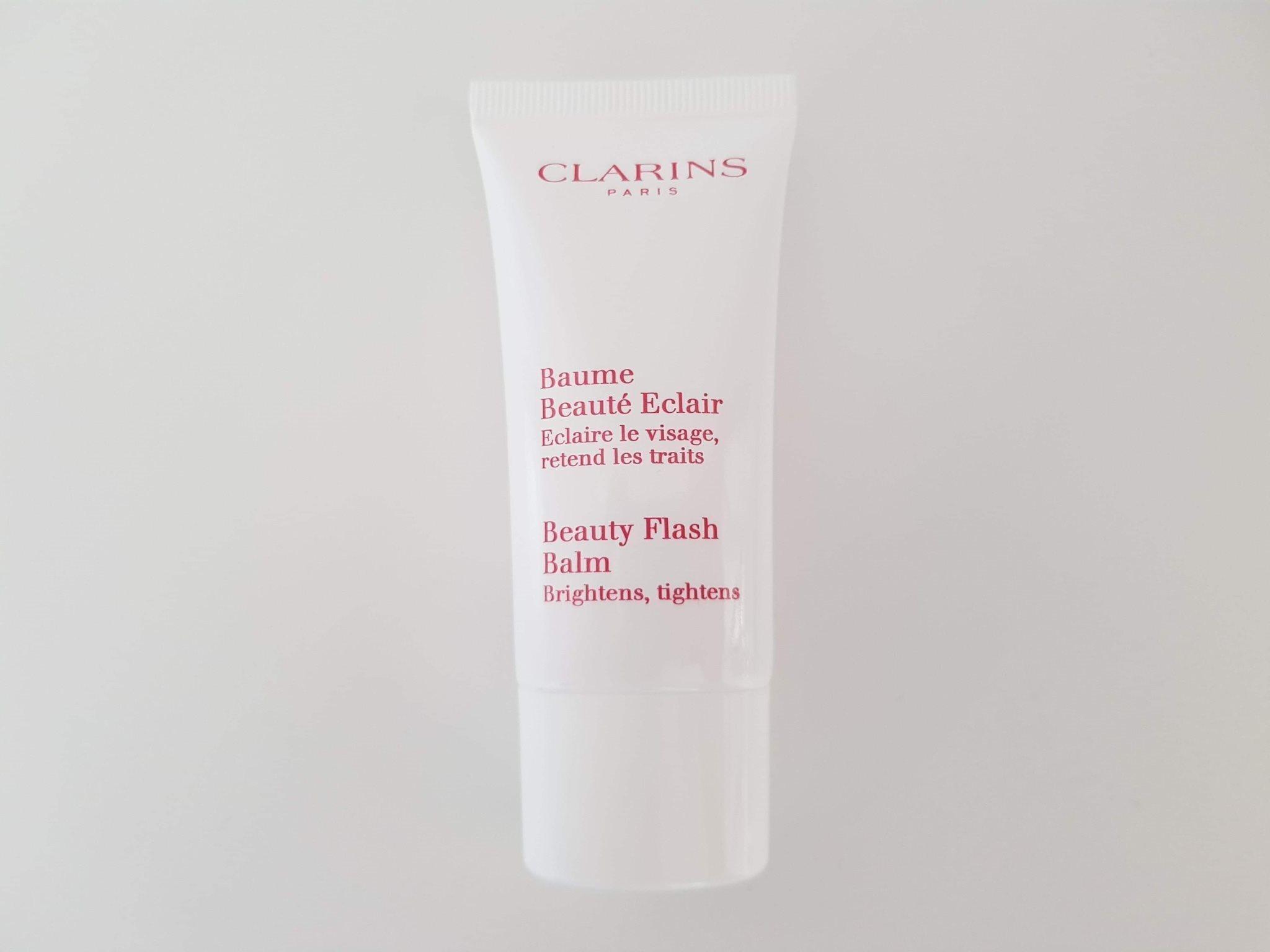 clarins beauty flash balm ansiktsmask