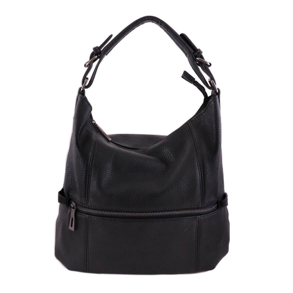 Väska, läderimitation svart (341512986) ᐈ mzmode på Tradera