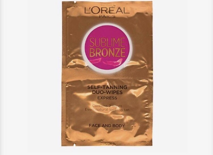 brun utan sol wipes