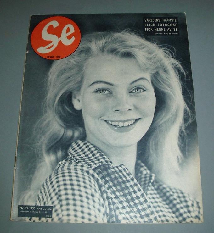 SE nr 39 1956 - Anne-Marie Adamsson, de Wahl, Ingo m.m. på